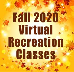 fall rec classes graphic